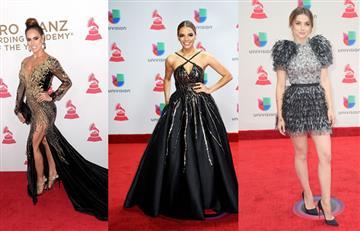 Latin Grammy 2017: Las mejores vestidas de la alfombra roja