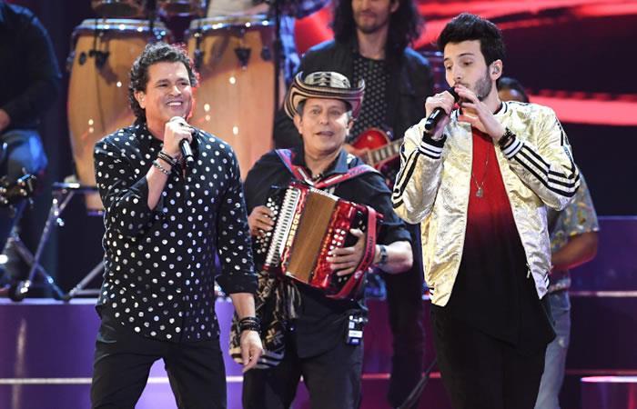Latin Grammy: Carlos Vives y Sebastián Yatra pusieron a bailar a todos