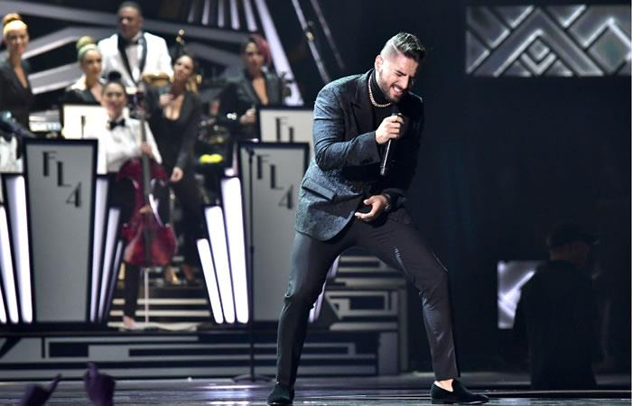 Latin Grammy: Maluma es criticado por su presentación