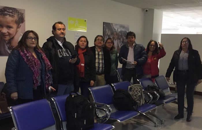Docentes de Bogotá se tomaron la Secretaría de Educación