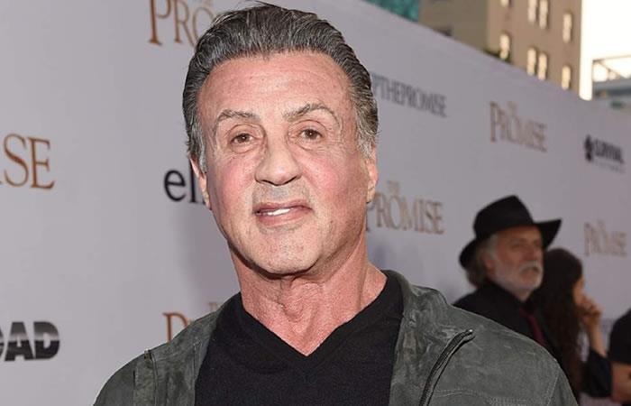 Sylvester Stallone. Foto. AFP