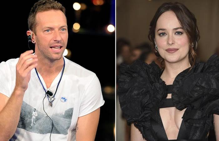 Coldplay en Argentina habría develado el romance entre Dakota Johnson y Chris Martin