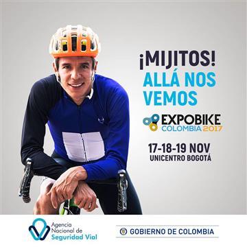 ExpoBike Colombia: Rigoberto Urán en el primer salón internacional de la bicicleta