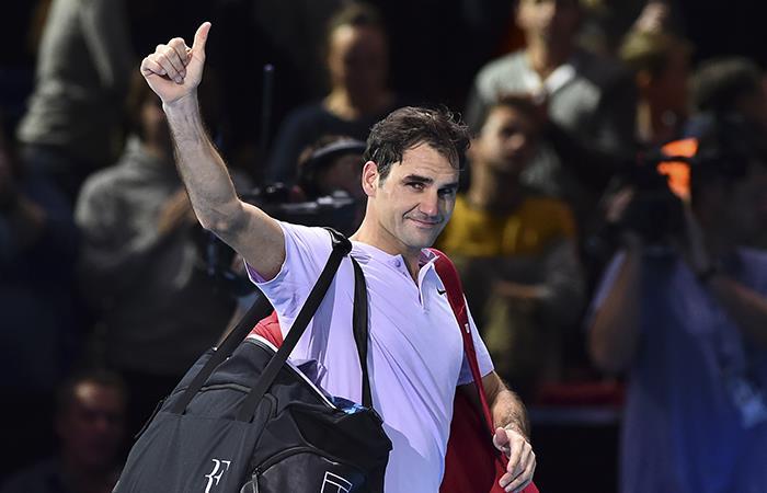 Roger Federer fue derrotado y eliminado por Goffin