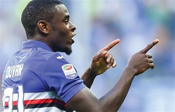 Duván Zapata anotó en la victoria sobre la Juventus de Cuadrado
