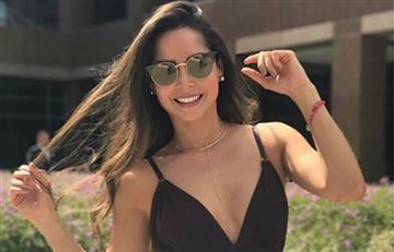 Carmen Villalobos deleitó bailando La Pollera Colora