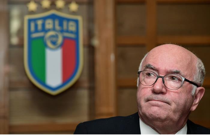 Federación Italiana de Fútbol se queda sin presidente en medio de polémica