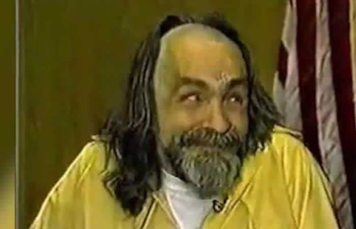 El escalofriante video de la locura de Charles Manson
