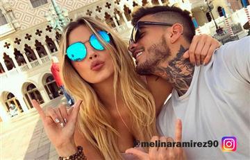 Melina Ramírez sorprendió a su novio Mateo Carvajal con impresionante regalo
