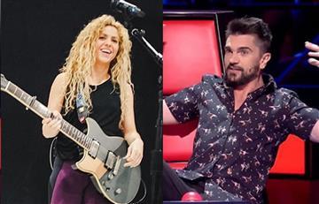 Shakira y la fría respuesta a Juanes tras su mensaje de apoyo
