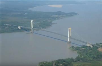 Naufragó una embarcación en el río Orinoco con 18 personas
