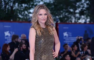 El sorprendente cambio de Michelle Pfeiffer