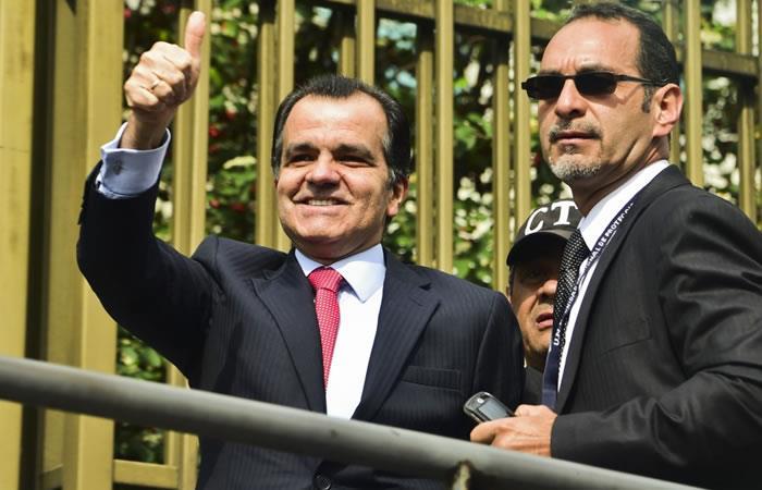 Oscar Iván Zuluaga. Foto: AFP