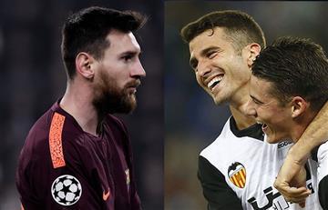 Barcelona y el Valencia de Murillo se juegan el partido más importante de España