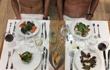 Video: París abre su primer restaurante para nudistas