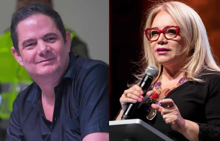 Germán Vargas Lleras y Claudia de Castellanos. Foto: Twitter