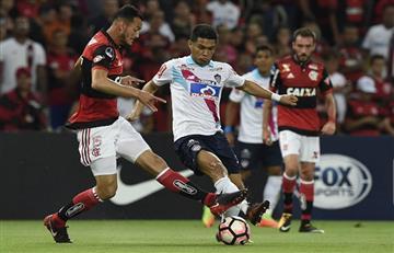 Copa Sudamericana: Junior no pudo con Flamengo y cede en semifininales
