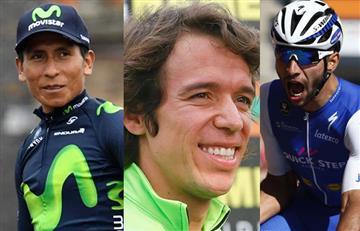 Nairo Quintana, Rigoberto Urán y Fernando Gaviria competirán en Colombia