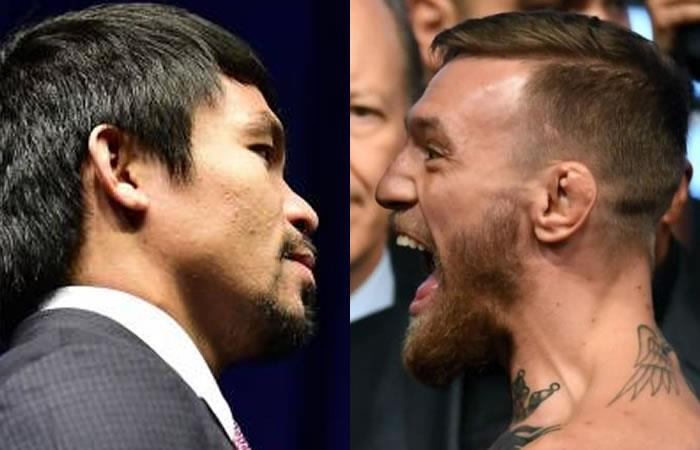 Pacquiao retó a McGregor a un combate de