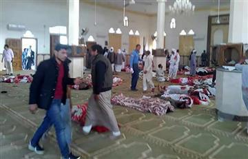 Atentado en mezquita Sinaí dejó al menos 184 muertos
