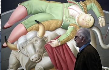 Dos sospechosos imputados del robo de una obra de Botero en Francia