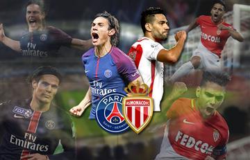 Falcao vs. Cavani el duelo de goleadores en la Ligue 1