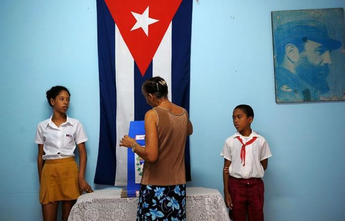 Cubanos a las urnas en busca de un nuevo presidente