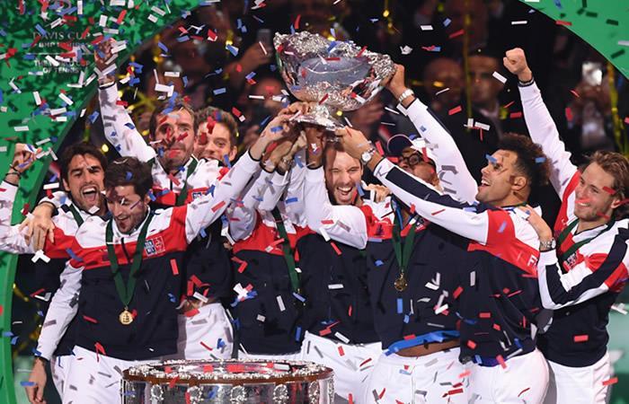 Francia logra su décima Copa Davis con triunfo de Pouille
