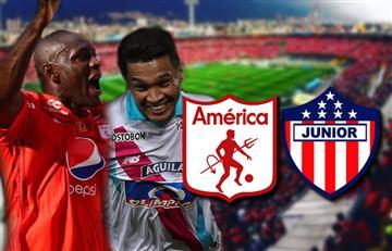 América vs. Junior: Transmisión EN VIVO por la ida de los cuartos de la Liga Águila