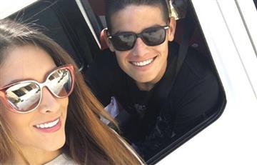 ¿James Rodríguez y Daniela Ospina en reconciliación?
