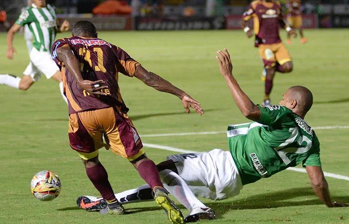 Tolima sacó una leve ventaja a Nacional en el Murillo Toro