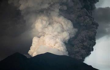 Video: Erupción del volcán Agung en Bali