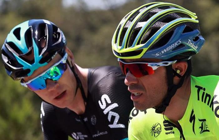 Alberto Contador rompió el silencio con respecto a Chris Froome