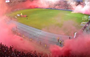 América de Cali prendió el infierno en el Estadio Pascual Guerrero
