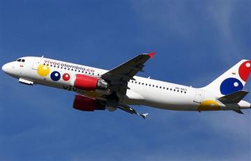 Susto por un rayo que impactó avión de Viva Colombia en vuelo