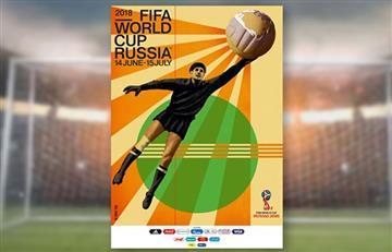 FIFA: El póster oficial cuenta con el legandario portero Lev Yashin