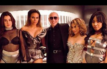 Video: Pitbull lanza 'Por favor' junto a Fifth Harmony
