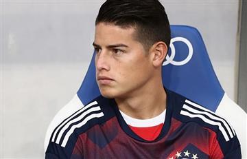 James Rodríguez está de vuelta con el Bayern Múnich