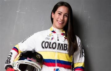 Mariana Pajón sorprende en otra disciplina deportiva