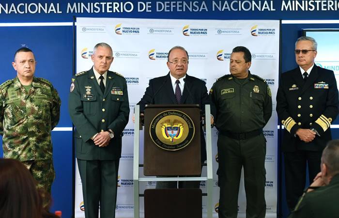 Ministro de defensa anuncia la captura de 16 miembros de las FF.MM.