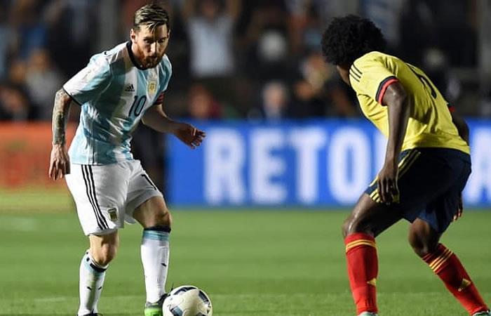 Lionel Messi felicita a la selección Colombia por clasificar al Mundial de Rusia 2018