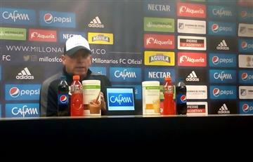 """Luis Fernando Súarez: """"El árbitro influyó en el resultado del partido"""""""