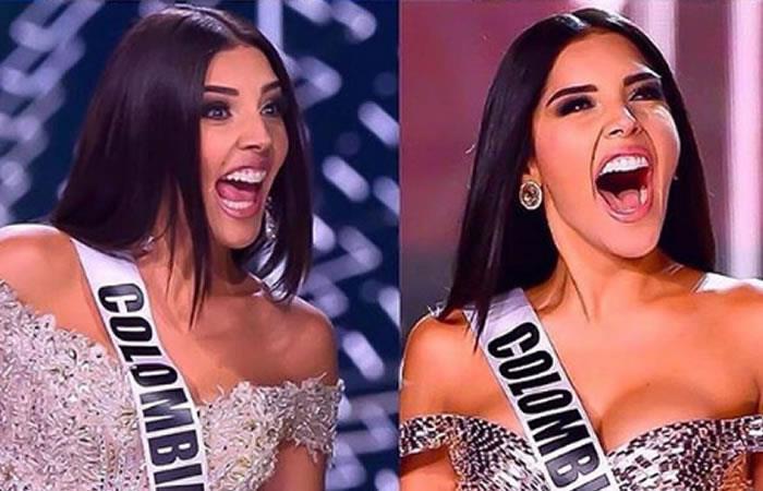 Señorita Colombia respondió a las críticas por su enorme sonrisa