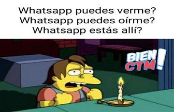 Whatsapp: Estos son los memes que deja la falla del servicio