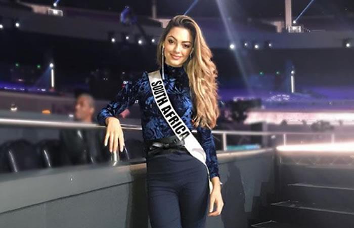 Así se ve Miss Universo sin nada de maquillaje