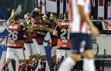 Atlético Junior eliminado por el Flamengo de Reinaldo Rueda