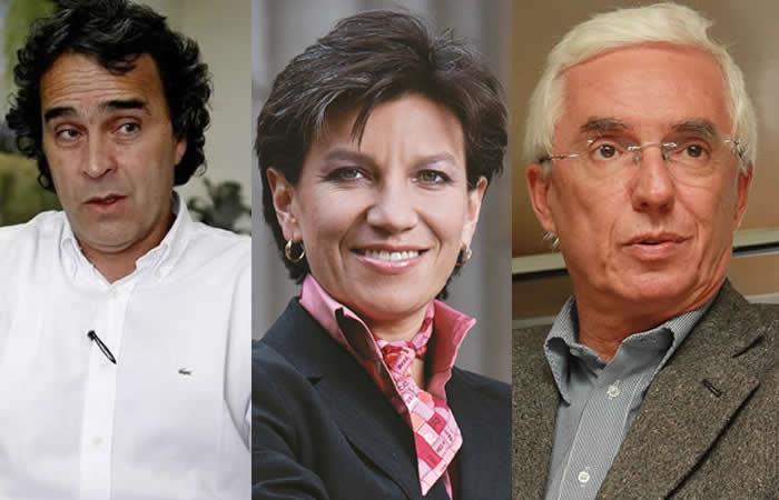 Coalición Claudia López, Sergio Fajardo y Jorge Robledo se rompió