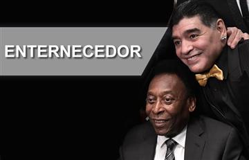 Maradona y Pele: El beso que enterneció al mundo
