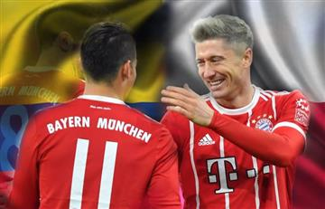 Rusia 2018: James vs. Lewandowski, duelo que resalta el Bayern Múnich