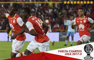 Santa Fe goleó y clasificó a semifinales frente a Jaguares